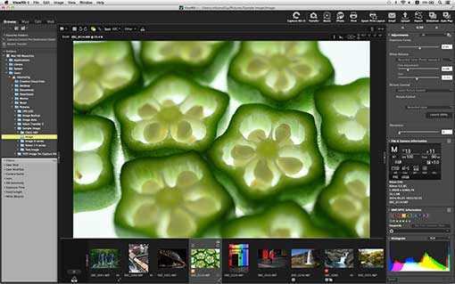 Free download for ViewNX-i (Ver 1 1 0) image browsing software